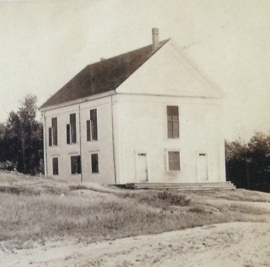 1860s view of Robinhood Free Meetinghouse