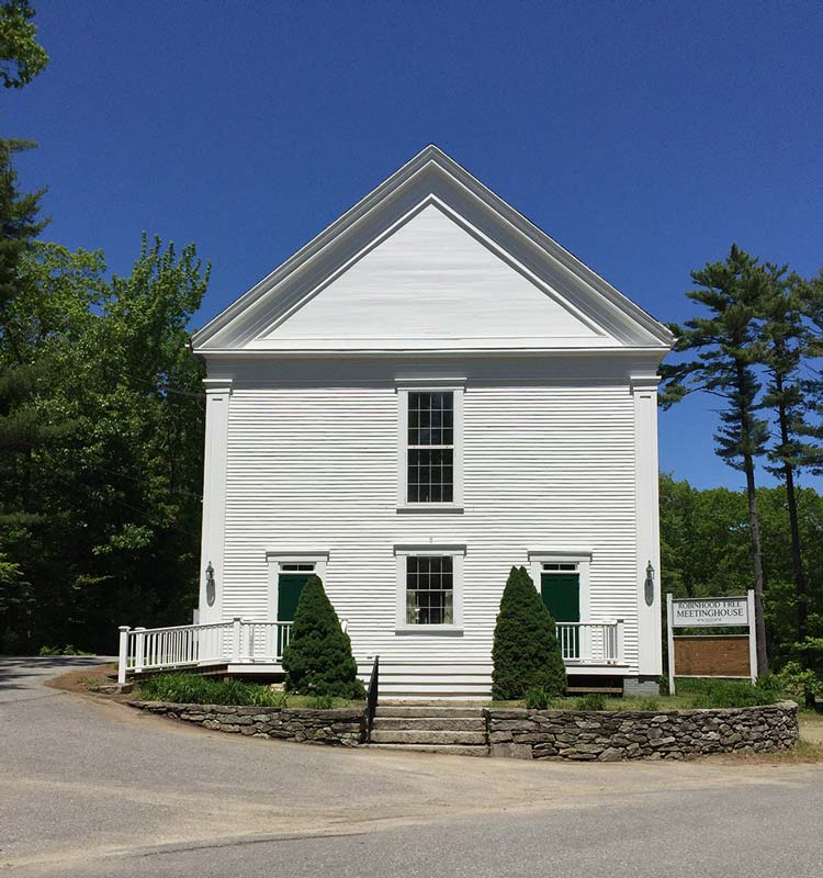 Robinhood Free Meetinghouse Front View