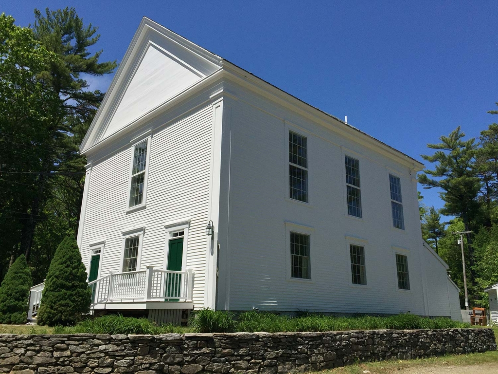 Robinhood Free Meetinghouse Side View