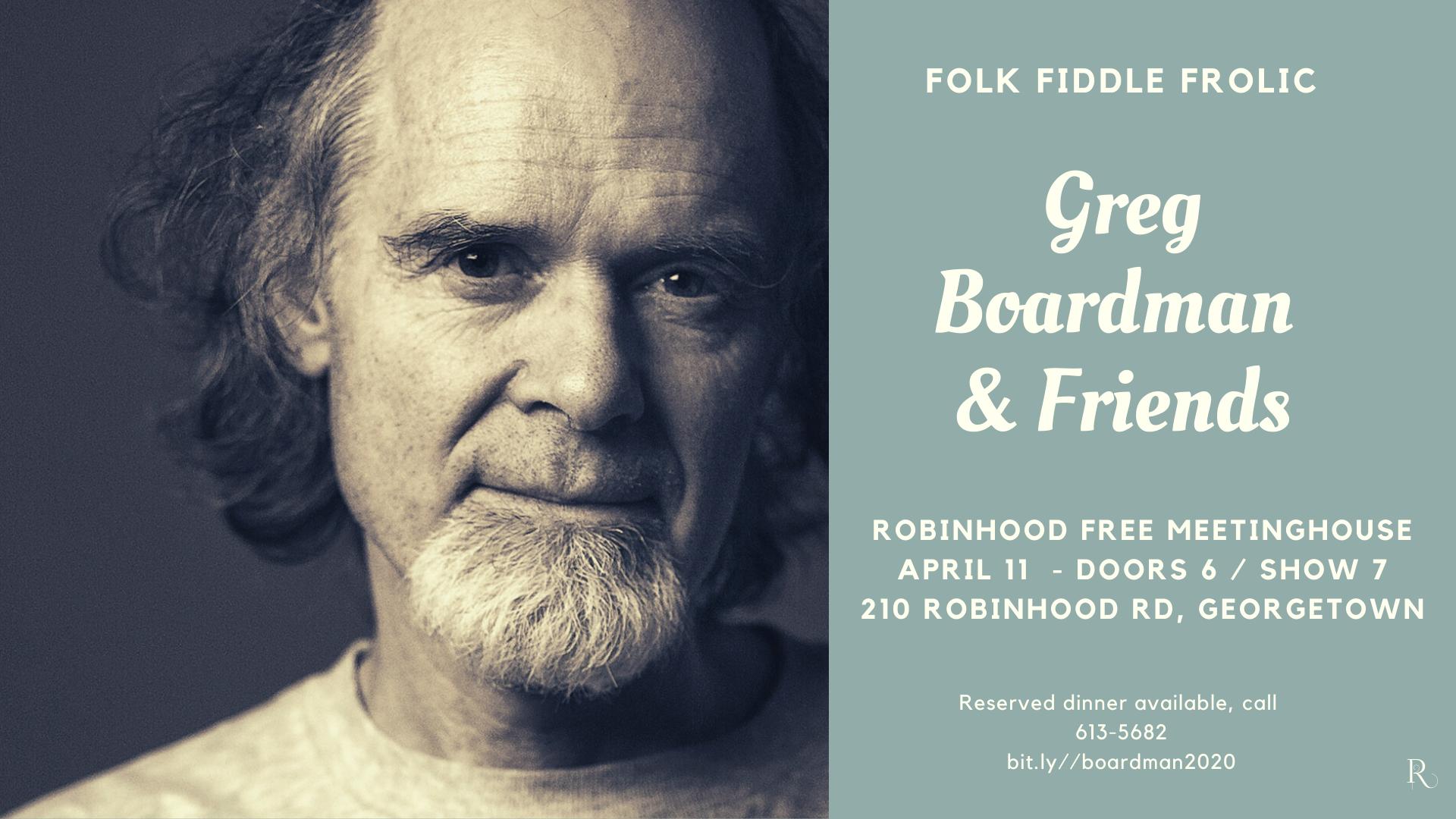 Greg Boardman and Friends Promo